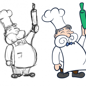 The Chef character for CODE Game