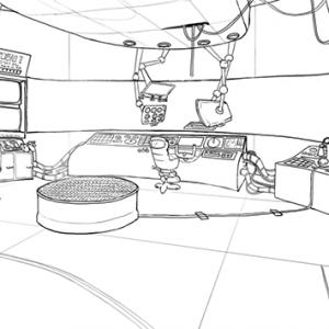 Sci-Fi Submarine WIP1