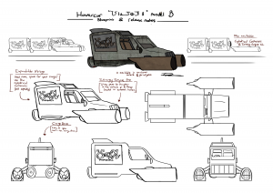 Hovercar concept art