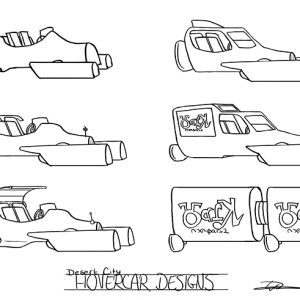 Hovercar designs