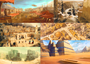 Moodboard 1 Desert City