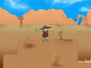 Wastelander game screenshot 2